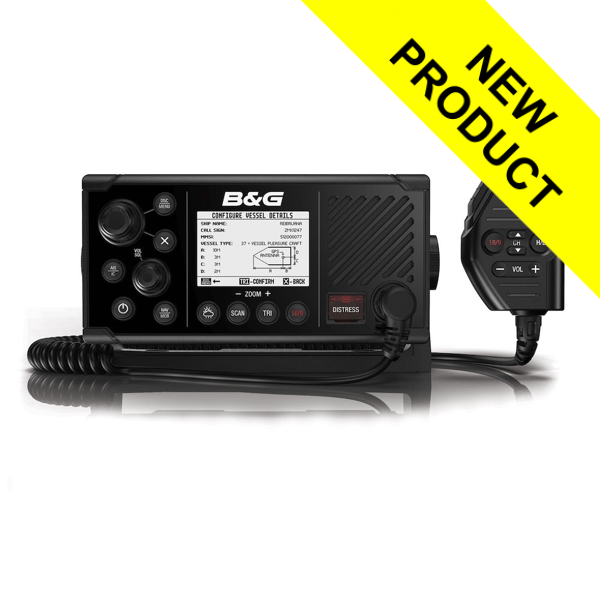B&G V60-B VHF Radio With Built is Class B AIS Transceiver