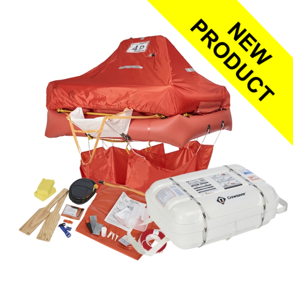 Crewsaver ISO Liferaft - 4 Man Canister