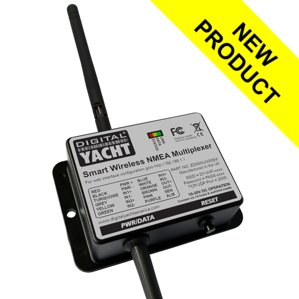 Digital Yacht NMEA to WIFI Multiplexer