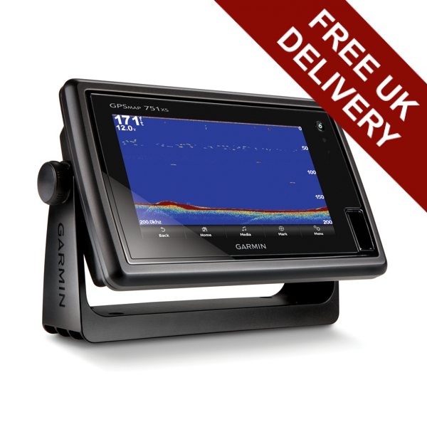 Garmin Gpsmap 751xs Dual Touch 7 Inch Plotter/sounder With Uk Charts
