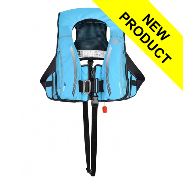 Kru Sport ProADV Automatic + Harness Hood & Light - Sky Blue