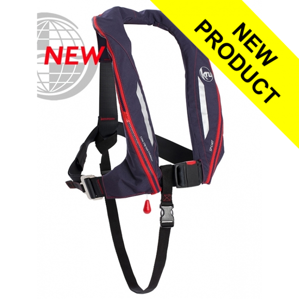 Kru Sport - Manual + Harness - Navy