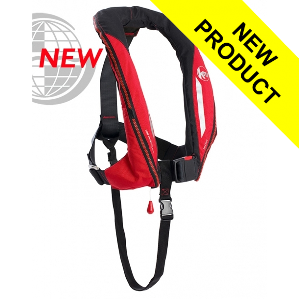 Kru Sport - Manual + Harness - Red & Carbon