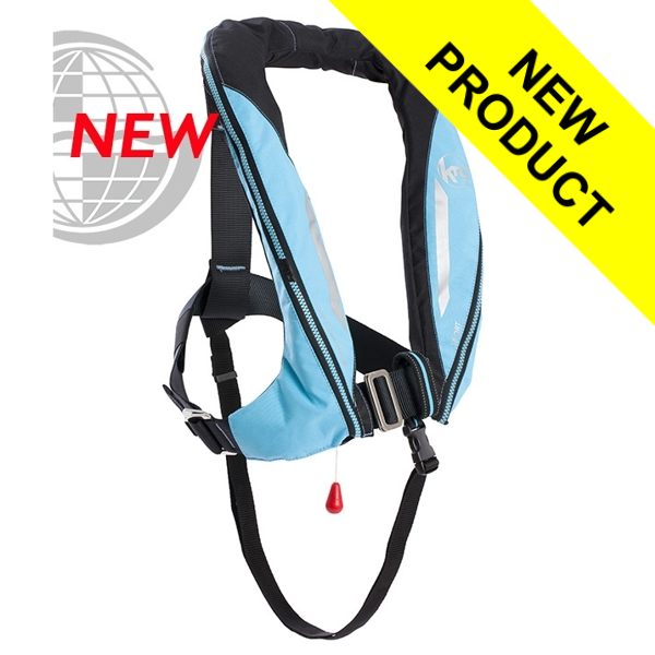 Kru Sport - Manual + Harness - Sky Blue & Carbon