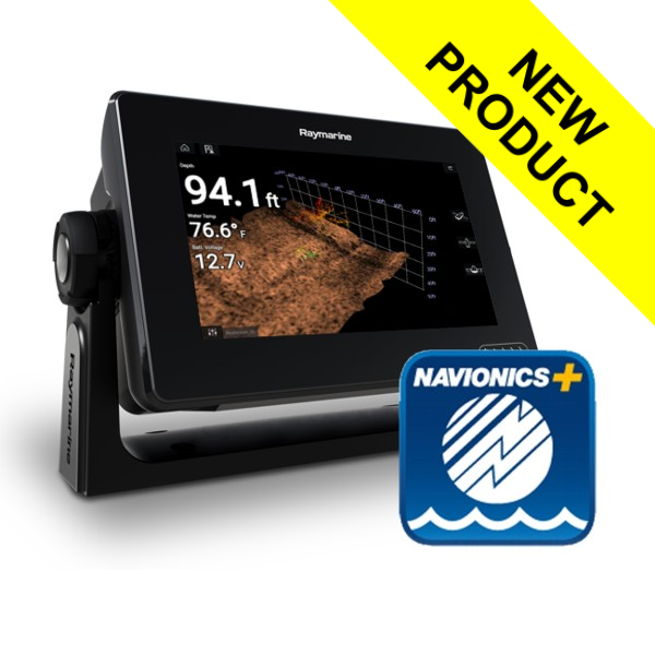 Raymarine Axiom 7 RV - 7 Inch MFD With RealVision 3D Sounder (No TR) & Navionics+ Small Download Chart