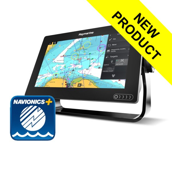 Raymarine Axiom 9 - 9 Inch Multi Function Display With Navionics Plus Small Download Chart