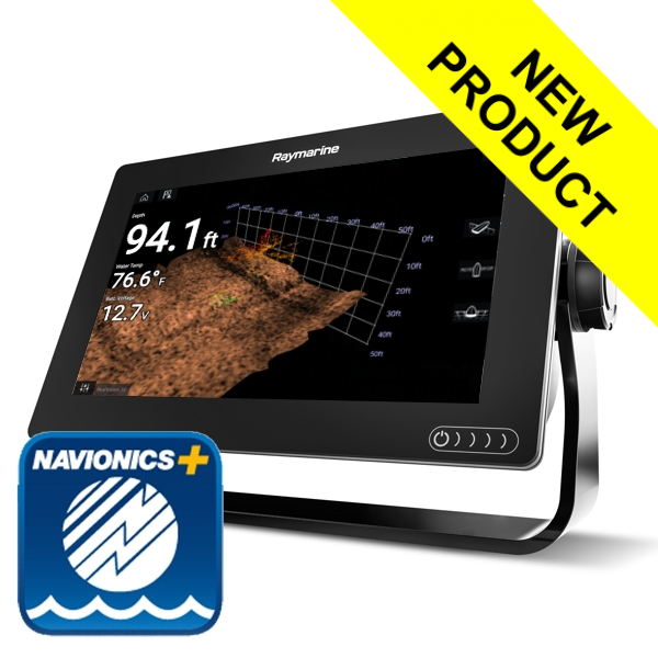 Raymarine Axiom 9 RV - 9 Inch MFD With RealVision 3D Sounder (No TR) & Navionics+ Small Download Chart