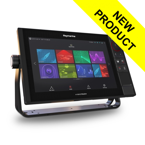 Raymarine Axiom 12 Pro-S HybridTouch 12 Inch MFD with intergrated High CHIRP Conical Sonar for CPT-S