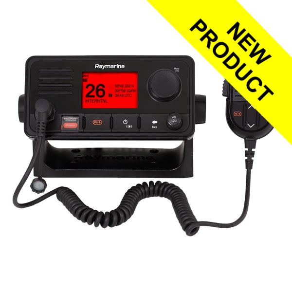 Raymarine Ray63 VHF Radio With Integrated GPS Receiver
