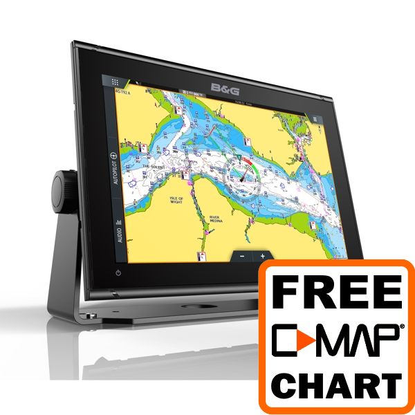 B&G Vulcan 12 12 Inch Chartplotter Display with Radar Compatibility - No Transducer
