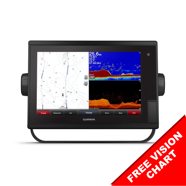 Garmin GPSMAP 1222XSV Touch 12 Inch Colour Chart Plotter AND Sonar