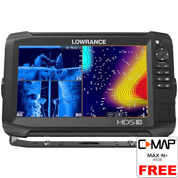 Lowrance HDS-9 Carbon ROW with No Transducer