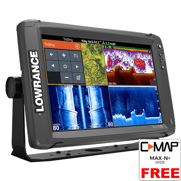 Lowrance Elite-12 Ti Fishfinder/Chartplotter with No Transducer