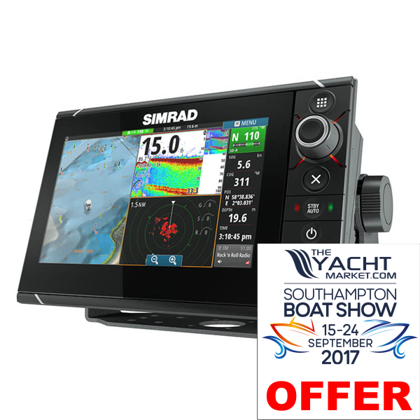 Garmin GPSMAP 7416xsv 16 Inch Multi-Touch Wide Screen Display With Built in Sounder