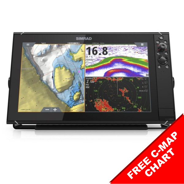 Simrad NSS16 evo3 16 Inch Display With World Basemap