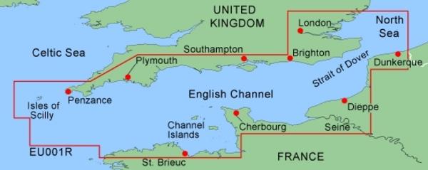 Garmin BlueChart G2 Sdmicrosd Format Chart Eu001r English Channel