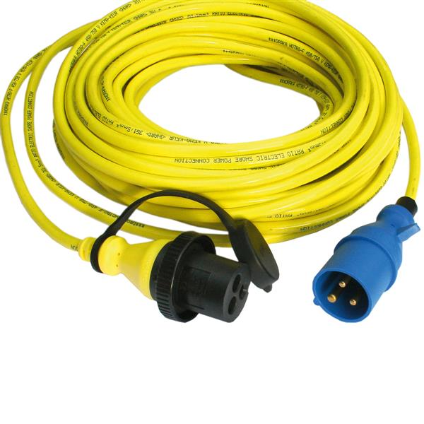 Victron Energy Shore Power Cord - 25m 25a/250vac
