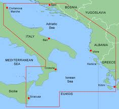 G2 Sd/microsd Format Chart Eu453s  Adriatic Sea, South Coast