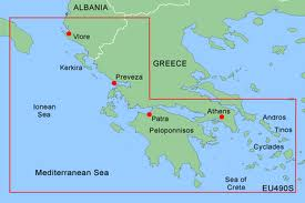 G2 Sd/microsd Format Chart Eu490s  Greece West Coast And Athens