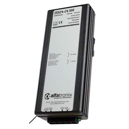 Alfatronix Ddi24-24 168 Converter Dc To Dc Multi Selection - 24vdc To 24vdc 7a Continuous 9a Intermittent