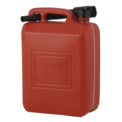 Plastic Fuel Jerry Can C/W Spout 20Ltr