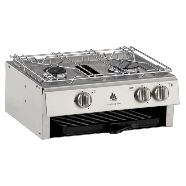 Bainbridge Neptune Hob 4500 2 Hob Burner with Grill