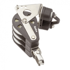 Barton Size 5 Plain Block Triple Swivel & Bkt & Cam