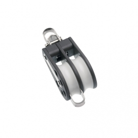 Barton Size 2 Ball Bearing Block Double Reverse Shackle & Becket