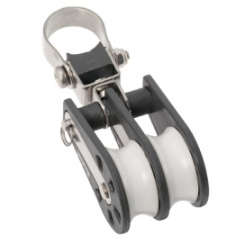 Barton Size 2 Ball Bearing Block Double with Stanchion Lead