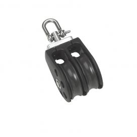 Barton Size 1 Plain Block Double Swivel