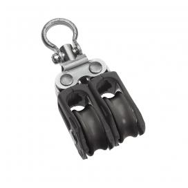 Barton Size 0 Ball Bearing Block Double Swivel