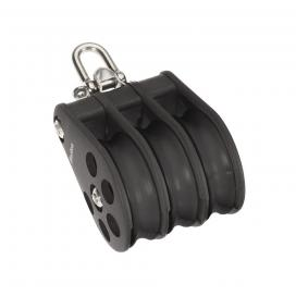 Barton Size 5 Ball Bearing Block Triple Reverse Shackle