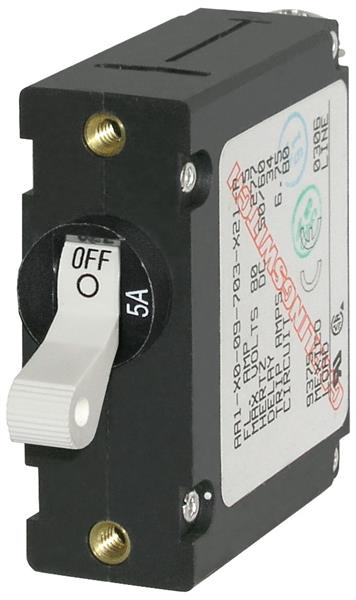 Blue Sea Circuit Breaker 5a White
