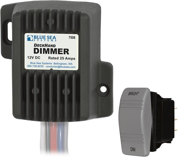 Blue Sea Deckhand Dimmer 12v 25a