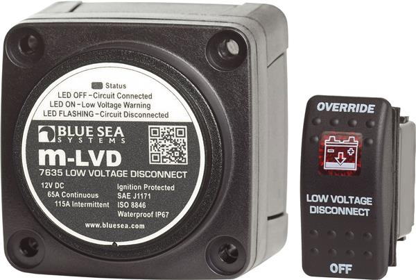 Blue Sea Low Voltage Disconnect M-ldv 65a 12v