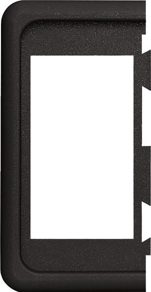 Blue Sea Contura End Bracket Black