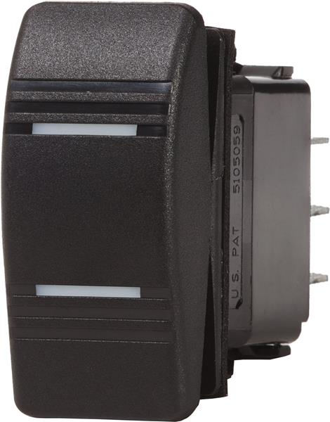 Blue Sea Switch Contura Spdt On-off-on Blk