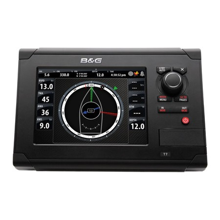 B&G ZEUS TOUCH MULTI FUNCTION DISPLAY 7 INCH C/W EU CHARTS