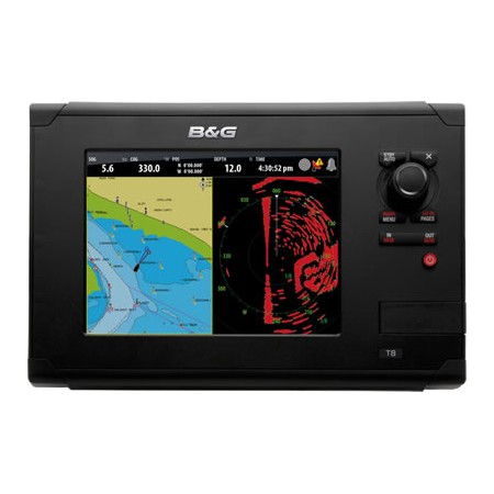 B&G ZEUS TOUCH MULTI FUNCTION DISPLAY 8 INCH C/W EU CHARTS