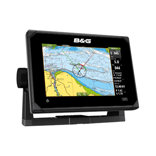 B&G Vulcan7 FS 7-Inch Multi-Touch Chartplotter with Built In Forward Looking Sonar - No Transducer Supplied