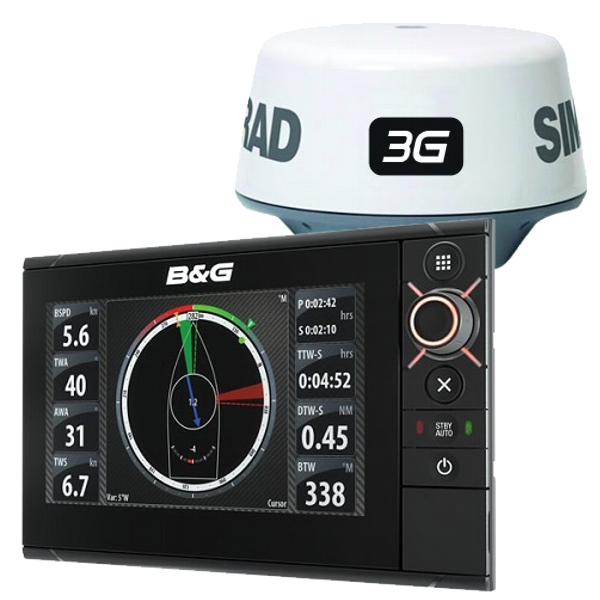 B&G ZEUS² 7 Display With 3G Radar Bundle With Insight Charts