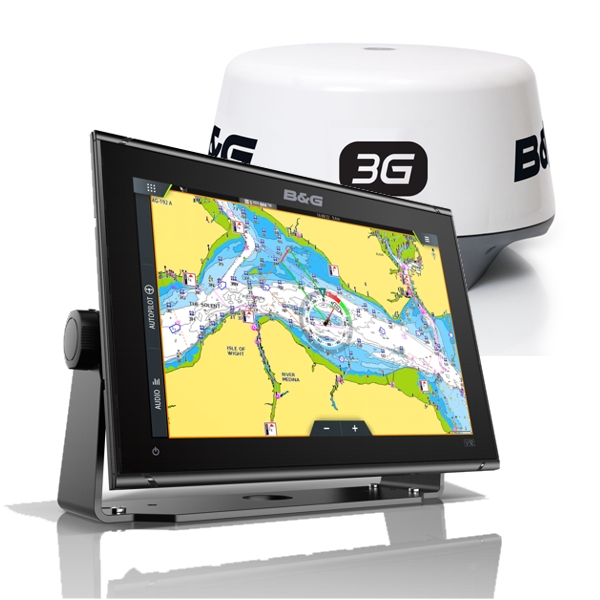 B&G Vulcan 12 Display With 3G Radar Scanner