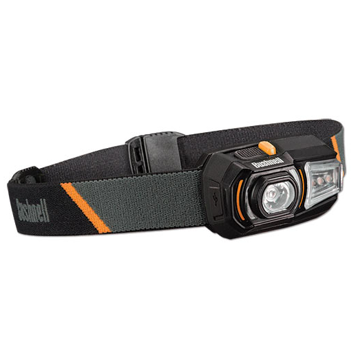 Bushnell Rubicon H125R LED Headlamp - Rechargeable 125 Lumens
