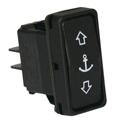 Carling V Series Contura II Switch - Anchor - ((on) - off - (on)) No Back Light