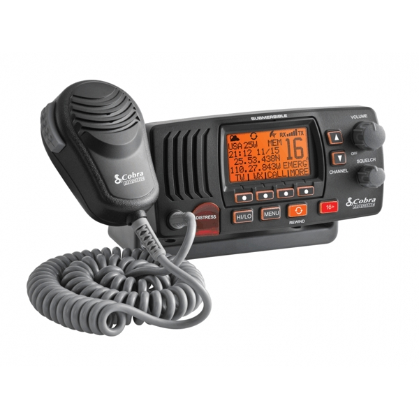 Cobra F57 Fixed VHF Marine Radio - Open Box