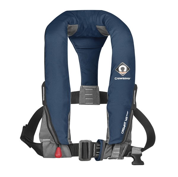 Crewsaver Crewfit 165N Sport - Automatic With Harness - Navy Blue