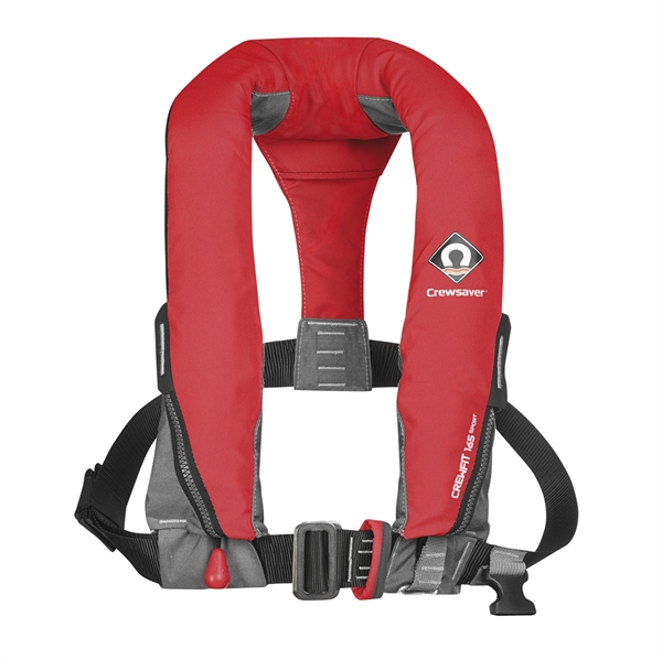 Crewsaver Crewfit 165N Sport - Manual With Harness - Red