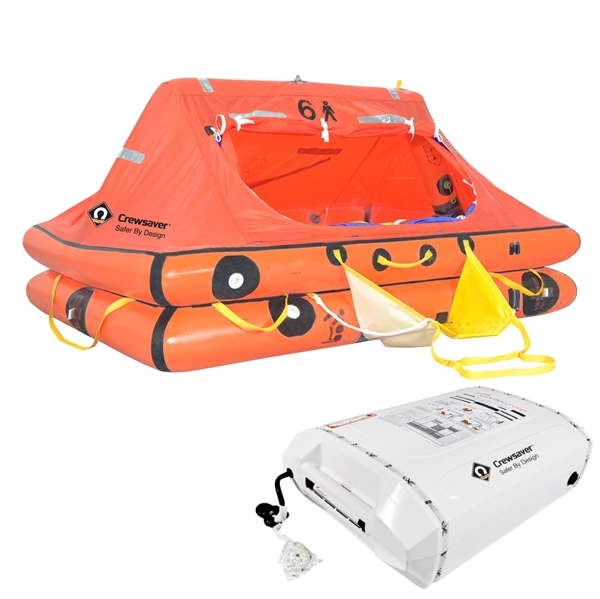 Crewsaver ISO Liferaft under 24hr - 6 Man Container