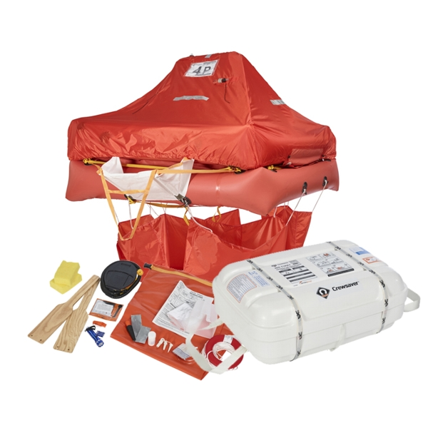 Crewsaver ISO Liferaft - 8 Man Canister