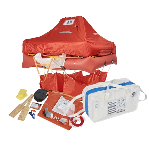 Crewsaver ISO Liferaft - 4 Man Valise (Reduced Expiry Date)